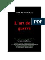 L' Art de la Guerre - Nicolas MACHIAVEL