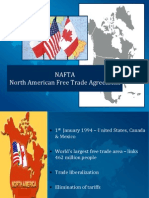 ppt for North America Free Trade Agreement