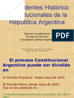 Antecedentes Histórico Constitucionales de la República Argentina.pps
