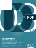 Disrupt Inc Report RSA