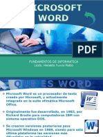 Introduccion a Microsoft Word