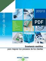 METTLER_TOLEDO_LabCat_2012_ES - catálogo de laboratorio de METTLER TOLEDO