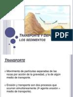 Transporte y Depósito de los sedimentos.pptx