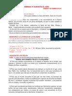 Guion Domingo 4to to -C- 3 de Febrero de 2013