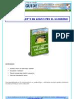 (Fai Da Te - Architettura) Gazebo E Casette in Legno Per Il Giardino