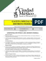 [PDF] Gaceta Oficial Del Distrito Federal -Tecamachalco