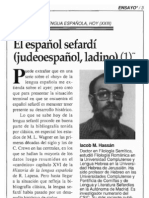 Lishana.org - El español sefardí (judeoespañol, ladino) - Iacob Hassán