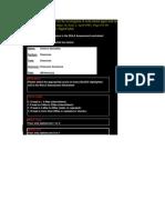 Ra[id upper limb assessment