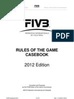 FIVB VB Casebook 2012