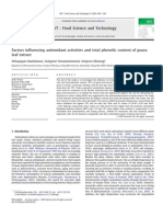 faktor-faktor yang mempengaruhi aktivitas antioksidan pada daun jambu biji