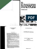 Rousseau. Contrato Social