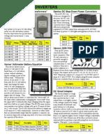 Catalog Dc2dc Converters
