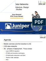 Juniper 3G Data Network