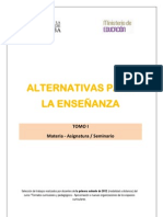 Tomo I - Alternativas Para La Ensenanza