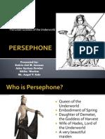 Persephone (World Literature-Greek Mythology)