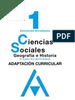 Sociales Ejercicios de Refuerzo de 1c2ba de e s o1