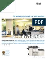 Bizhub 750600 Brochure V2