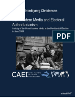 IRAN Modern Media and Electoral Authoritarianism