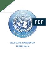 Reims International MUN Handbook