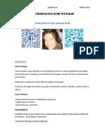 CV Patricia Bazan