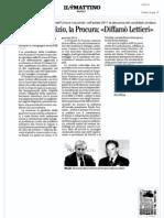 Gianni Lettieri - La Procura Contro d'Amato