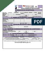 Planilla de Inscripcion 2013