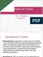 Tipologias de Turistas