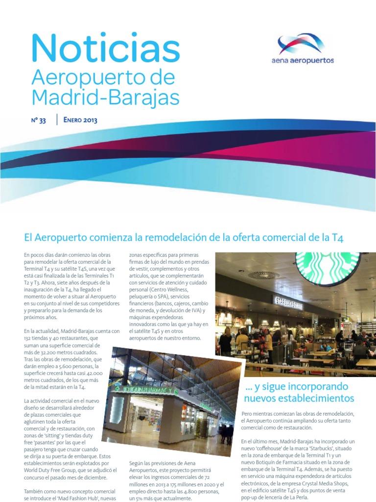 Farmacia t2 aeropuerto barajas