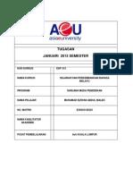 TUGASAN Kerancuan Bahasa Melayu