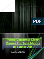 Yahoo Consumer Direct Marries Purchase Metrics To