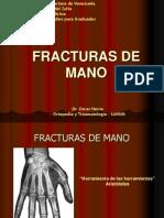 Fracturas Mano