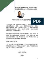 ESTILOS DE APRENDIZAJE Y RENDIMIENTO ACADÉMICO - 2