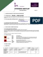 BB Primer 2 Acid Free - biztonsági adatlap