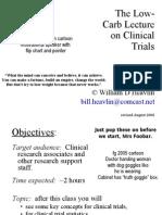 The Statistics in Trials