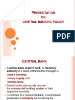 central banking ppt