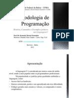 Metodologia de Programacao I