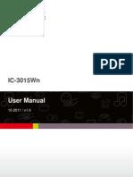 IC-3015Wn User Manual