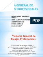Sistema de Riesgos Profesionales Exposicion