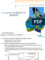 Fatigue in Ansys