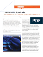 Trans-Atlantic Free Trade :