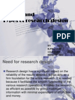 Need for Research Design