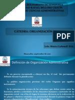 Org. y Met. Tema 1. Unidad I