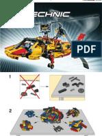 LEGO TECHNIC 9396 Alternate Model