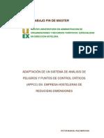 APPCC Master