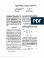Discrete-Time Field-Oriented Control for SM-PMSM