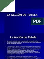 LA ACCIÓN DE TUTELA