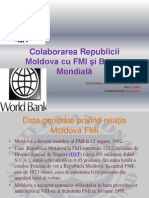 Colaborarea RM Cu FMI Si BM