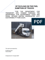 RR5 Effects of Payload on the Fuel Consumption of Trucks