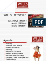 Wills Lifestyle Ppt