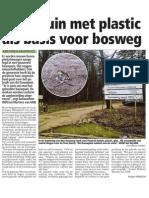 HBVL 12/03/'13 - Bouwpuin als basis voor bosweg